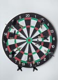 Good aim with darts Royalty Free Stock Photography