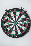 Good aim with darts Royalty Free Stock Images