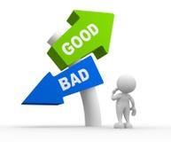 Good or bad Stock Photo
