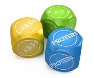 Good balanced diet concept Stock Image