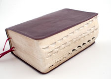 The good book. A large Bible stock image