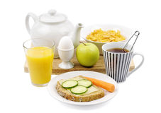 A good breakfast Stock Images
