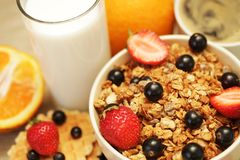 Good breakfast Royalty Free Stock Image