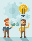 Good business idea Stock Photo
