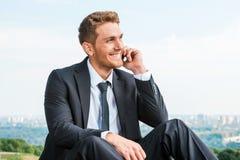 Good business talk. Royalty Free Stock Photos