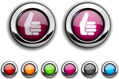 Good button. Royalty Free Stock Photo