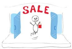 Good buy dreams Stock Image
