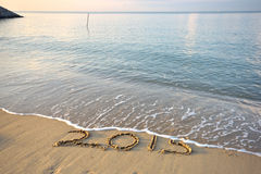 Good bye 2015 Stock Images
