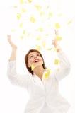 Good-bye Paper Work! Stock Photos