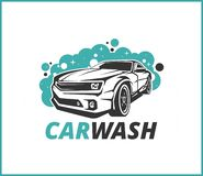 Good Carwash Logo, beatiful logo, car logo edition. Is a good design for company or business vector illustration