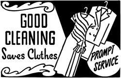 Good Cleaning 2 Stock Image