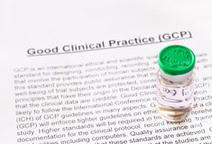 Good Clinical Practice. GCP. Stock Photo