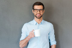 Good coffee for starting your day. Stock Image