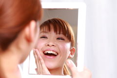 Good condition skin Royalty Free Stock Photography