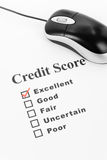 Good Credit Score Royalty Free Stock Image