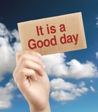 It is a good day Royalty Free Stock Photos