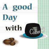 A good day with coffee Stock Images