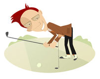 Free Good Day For Playing Golf Stock Images - 48333034