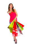 Good Day for Shopping Stock Image