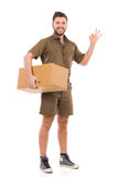 Good delivery service Royalty Free Stock Photos