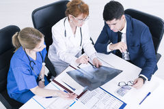 Good diagnose is the half of success stock photo