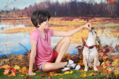 Good Dogie! Stock Photography