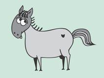 Good donkey. Vector figure of good donkey Stock Photos