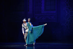 "Good dream security- ballet ""One Thousand and One Nights"". Ballet One Thousand and One Nights is based on the fairy tale with the same name in the Stock Images"