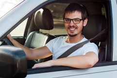 Good driver royalty free stock photo