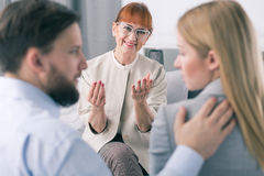 Good effects of marriage therapy stock images