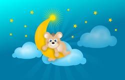 Good evening bear Royalty Free Stock Photos
