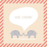 Good Evening2 Stock Photo