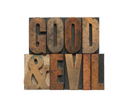 Good and evil Royalty Free Stock Photo