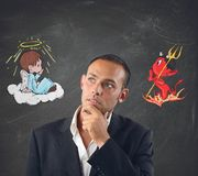 Good and evil Stock Image