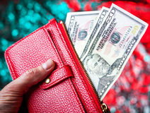A good filled wallet Royalty Free Stock Photography