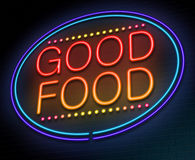 Good food concept. Royalty Free Stock Images