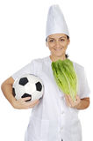 Good food for the health and deports Stock Photos