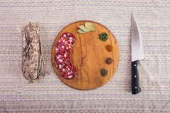 Good food laid out on the table Royalty Free Stock Images
