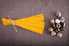 Good food laid out on the table Royalty Free Stock Image