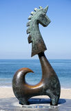 Good Fortune Unicorn (Sculpture) Royalty Free Stock Photos