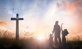 Free Good Friday And Easter Sunday Concept Royalty Free Stock Photos - 106211728
