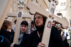 Good Friday in Jerusalem Stock Photo
