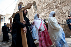 Good Friday in Jerusalem Royalty Free Stock Photos