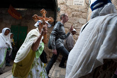 Good Friday in Jerusalem Stock Photography