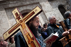 Good Friday in Jerusalem Stock Photos