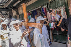 Good Friday in Jerusalem Stock Images