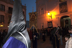 Good Friday procession in Nerja Spain Stock Images