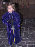 Good Friday procession in Nerja Spain Stock Photography