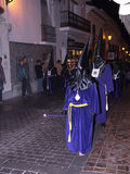 Good Friday procession in Nerja Spain Royalty Free Stock Images