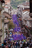 Good Friday procession in Quito, Ecuador Stock Images